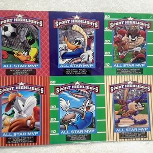 Vintage Looney tunes sports magnets